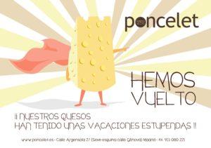 La tienda de quesos de Poncelet.