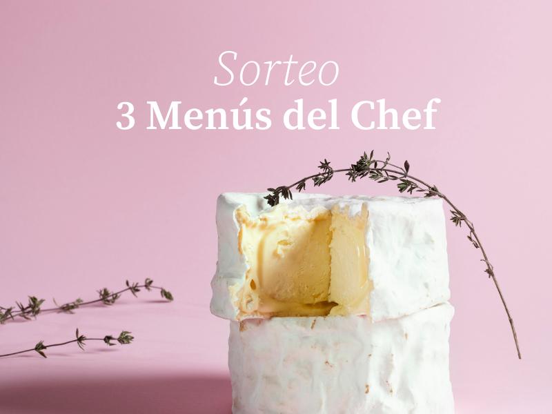 """Sorteamos 3 """"Menús del Chef"""" para celebrar los 10 años del Cheese Bar"""